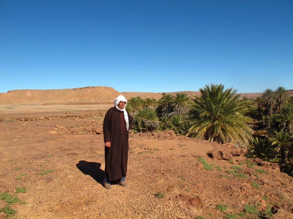 Berber man Saf Saf Oasis Morocco_Source NOSADE