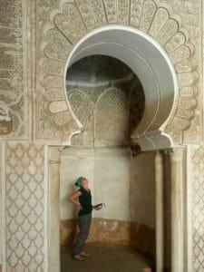 Corinna in Marrakech_Source NOSADE