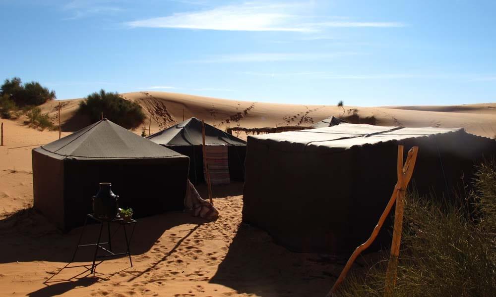 Desert Camp Erg Chebbi Sahara Desert Morocco_Source NOSADE