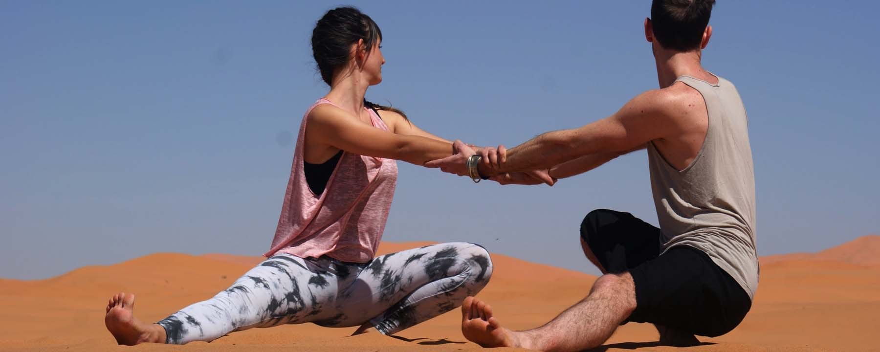 Desert Yoga Ninja Squat_Source NOSADE