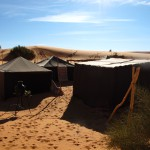 Desert camp Erg Chebbi Sahara typical Berber tent_Source NOSADE