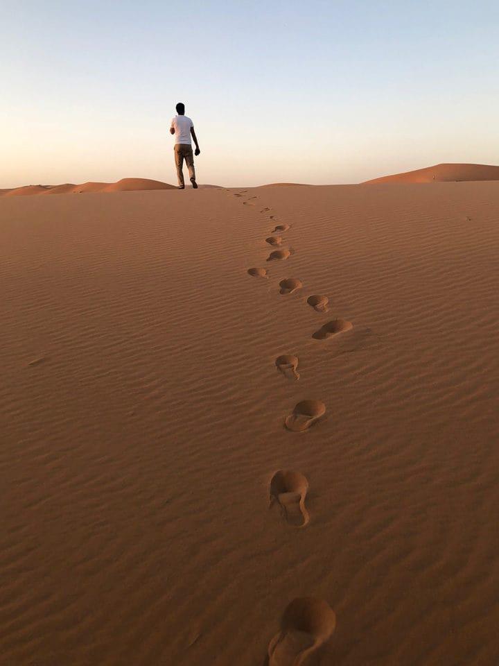 Desert of Merzouga
