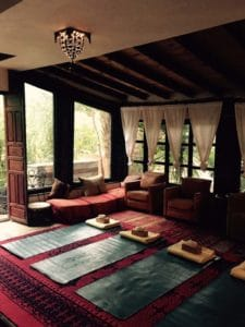 Ecolodge Bab el Oued Yoga Space_Source NOSADE