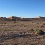 Erg Chebbi dunes Nomad tents Beduines Morocco_Source NOSADE
