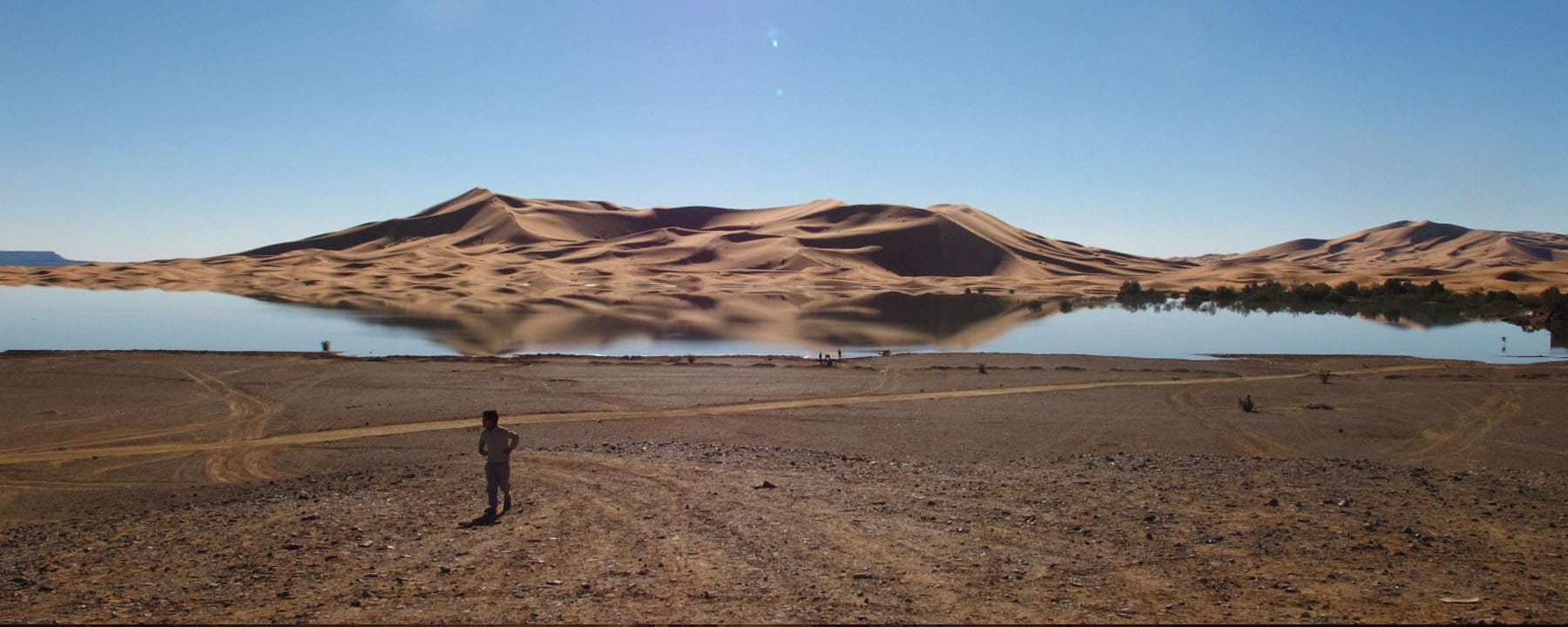 Erg Chebbi lake Sahara Desert Morocco_Source NOSADE