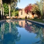 Garden Pool La Ferme Marrakech_Source LFB