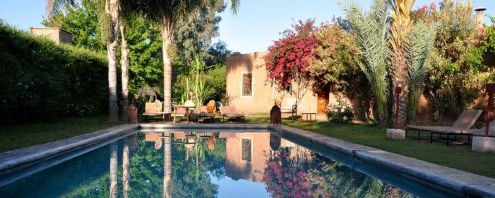 Garden Pool Marrakech La Ferme_Source LFB