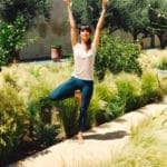 Garden yoga tree pose_Source NOSADE