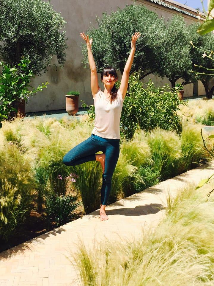 Garden Yoga Tree Pose_Source NOSADE