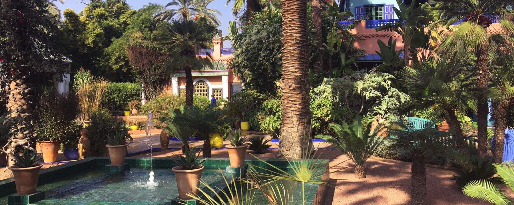 Jardin Majorelle Marrakech_Marrakech Essaouira_Source NOSADE