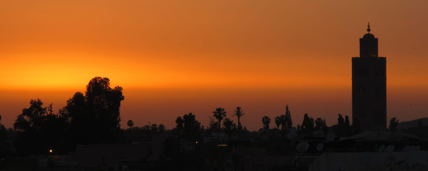 Koutoubia Mosque Marrakech sunset_Source NOSADE