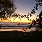 L'Auberge Terasse Sonnenuntergang_Source NOSADE