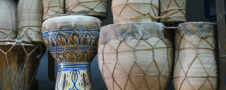 Moroccan drums_Source NOSADE by Philipp Hofstetter