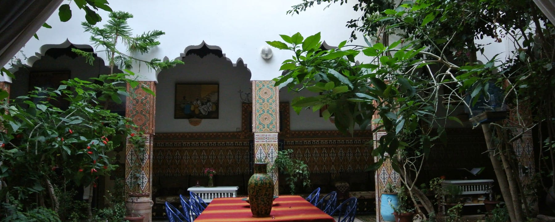 Morocco Riad Traditional Moroccan house with garden_Source NOSADE