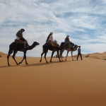 Morocco Sahara desert camel trekking Sea of Sands Erg Chebbi_Source NOSADE