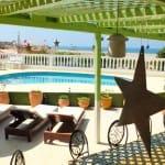 Pool area Villa Mandala Yoga Surf Retreat NOSADE_Source Surf Maroc