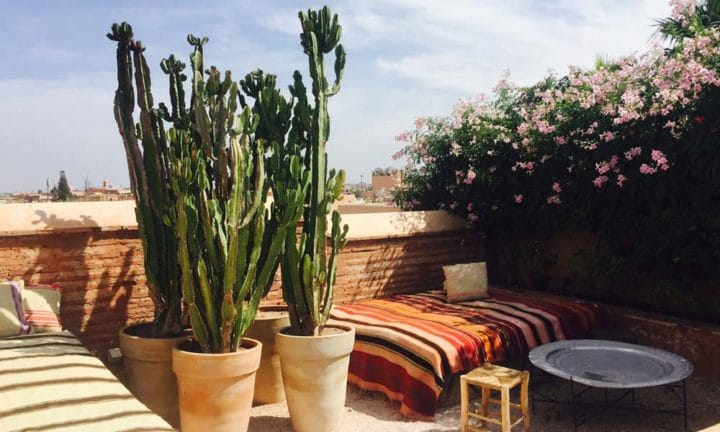 Riad Rooftop Marrakech_Source NOSADE