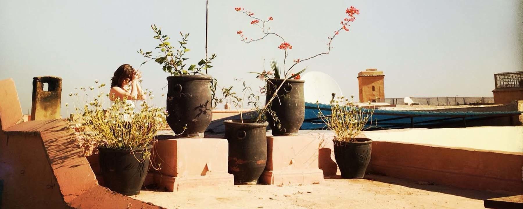 Rooftop Yoga in Marrakech_Source NOSADE