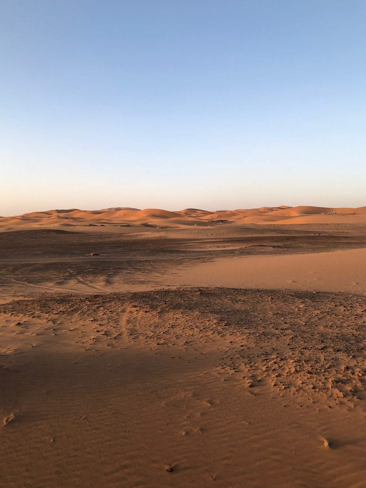 Room with a view: Dunes of Merzouga