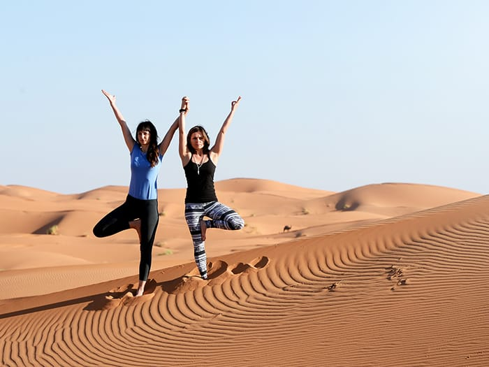 SAHARA DESERT YOGA RETREATS