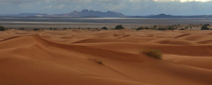 Sahara desert Morocco facing Alergian boarder_Source NOSADE