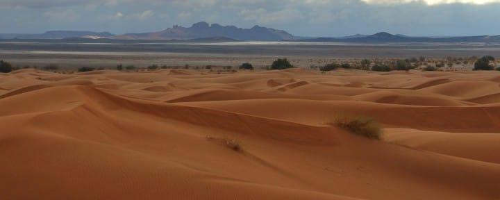 Sahara desert Morocco facing Alergian boarder_Source NOSADE