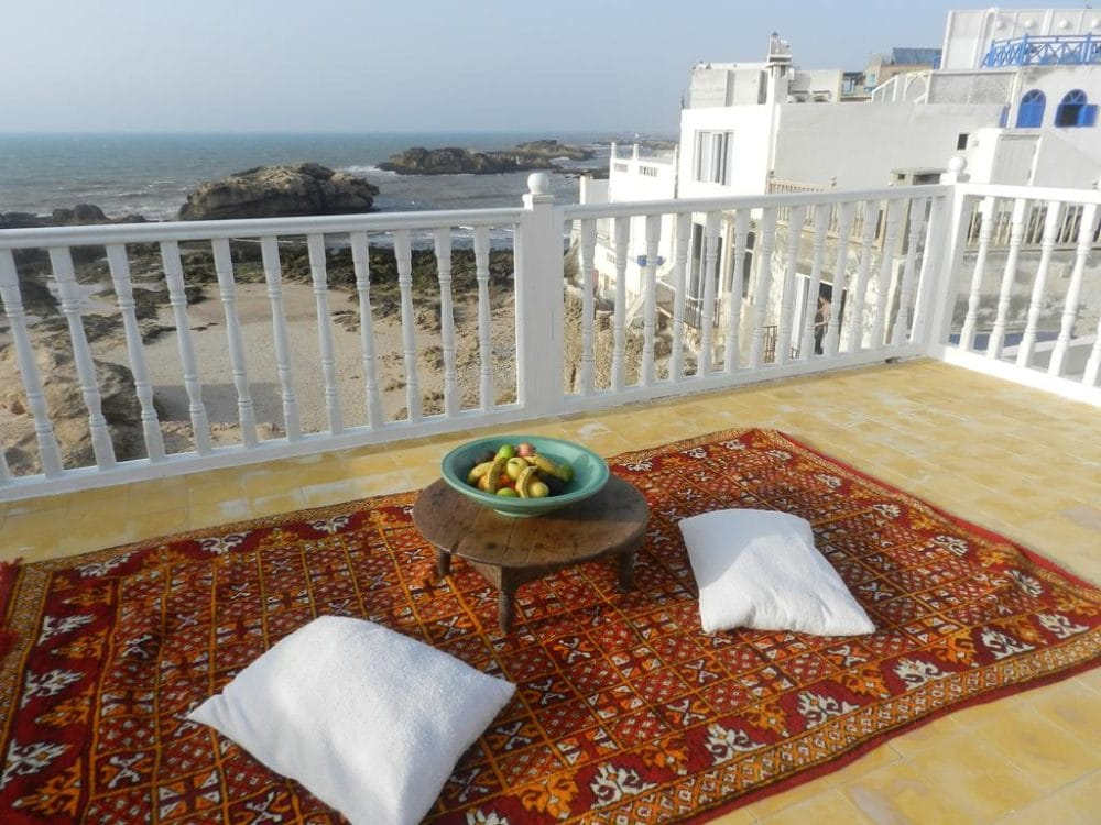 Terrace Riad Kafila Essaouira_Source Riad Kafila