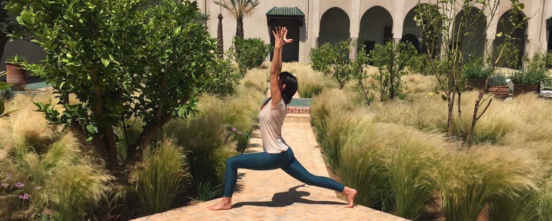 Marvelous Yoga U0026 Green Marrakech_Source NOSADE