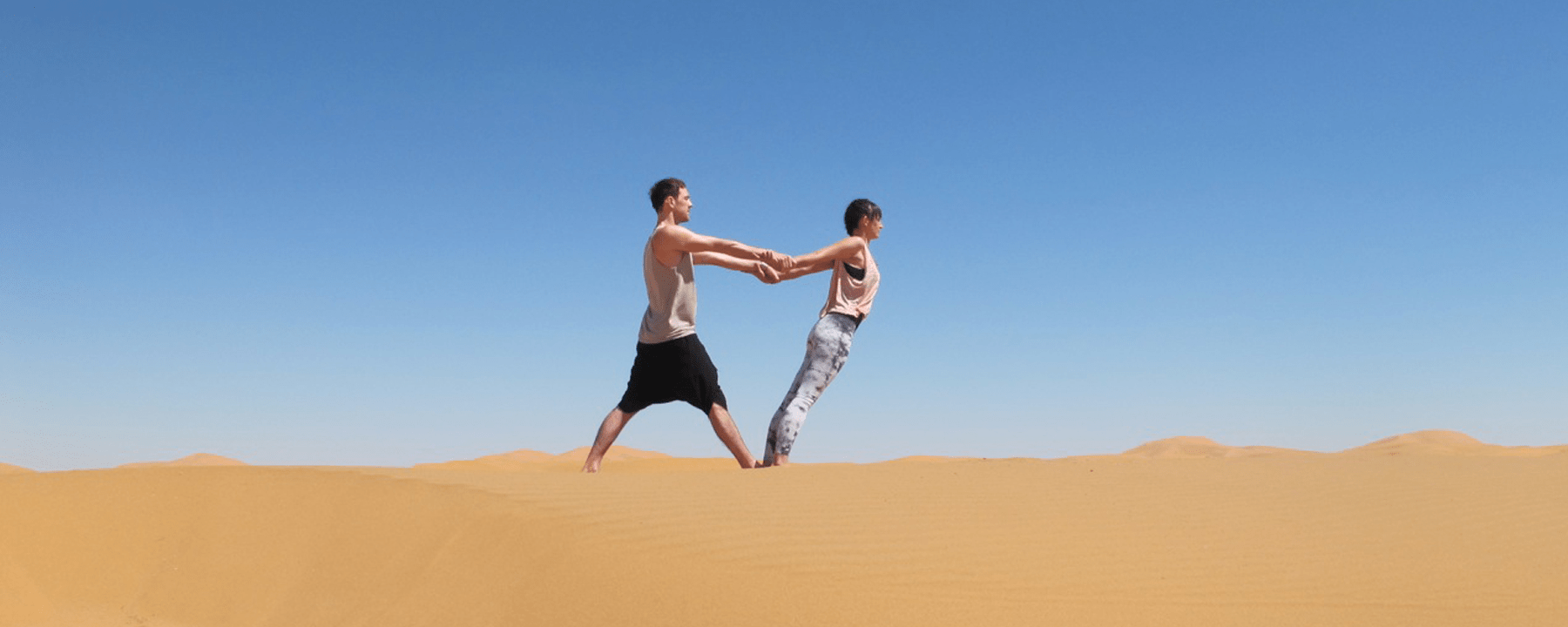 Yoga skillful movement Yoga Retreats Sahara Desert Morocco_Source NOSADE