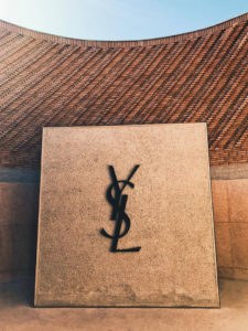 Impression from YSL Museum in Marrakech