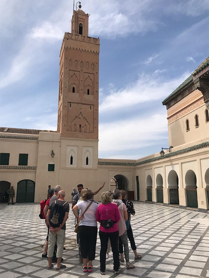 marrakech city tour mosque_Source NOSADE